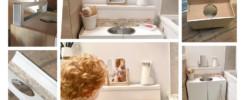 Créer une salle de bain Montessori
