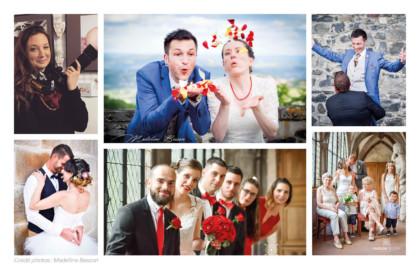 Photos mariage (marié(e)s, témoins et familles)