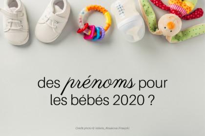 Prénoms bébé 2020