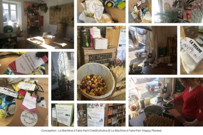 Photos de tisanes, plantes et de la boutique Happy Plantes
