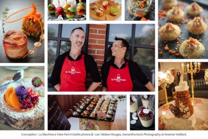 Photos de plats et des traiteurs des Tabliers Rouges
