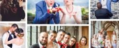 Photos de mariage (mariés, familles et amis) prises par Madeline Besson Photographe