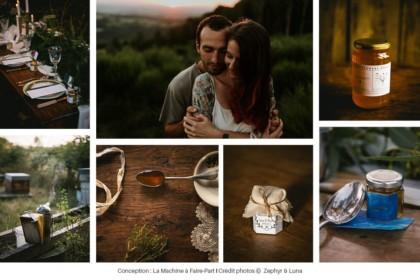 Photos de miel et de Quentin de la Miellerie des Monts Brumeux