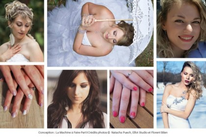 Photos de maquillages et de vernis à ongles réalisés par Natacha Puech