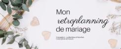 Visuel pour illustrer le workbook téléchargeable mon retroplanning de mariage