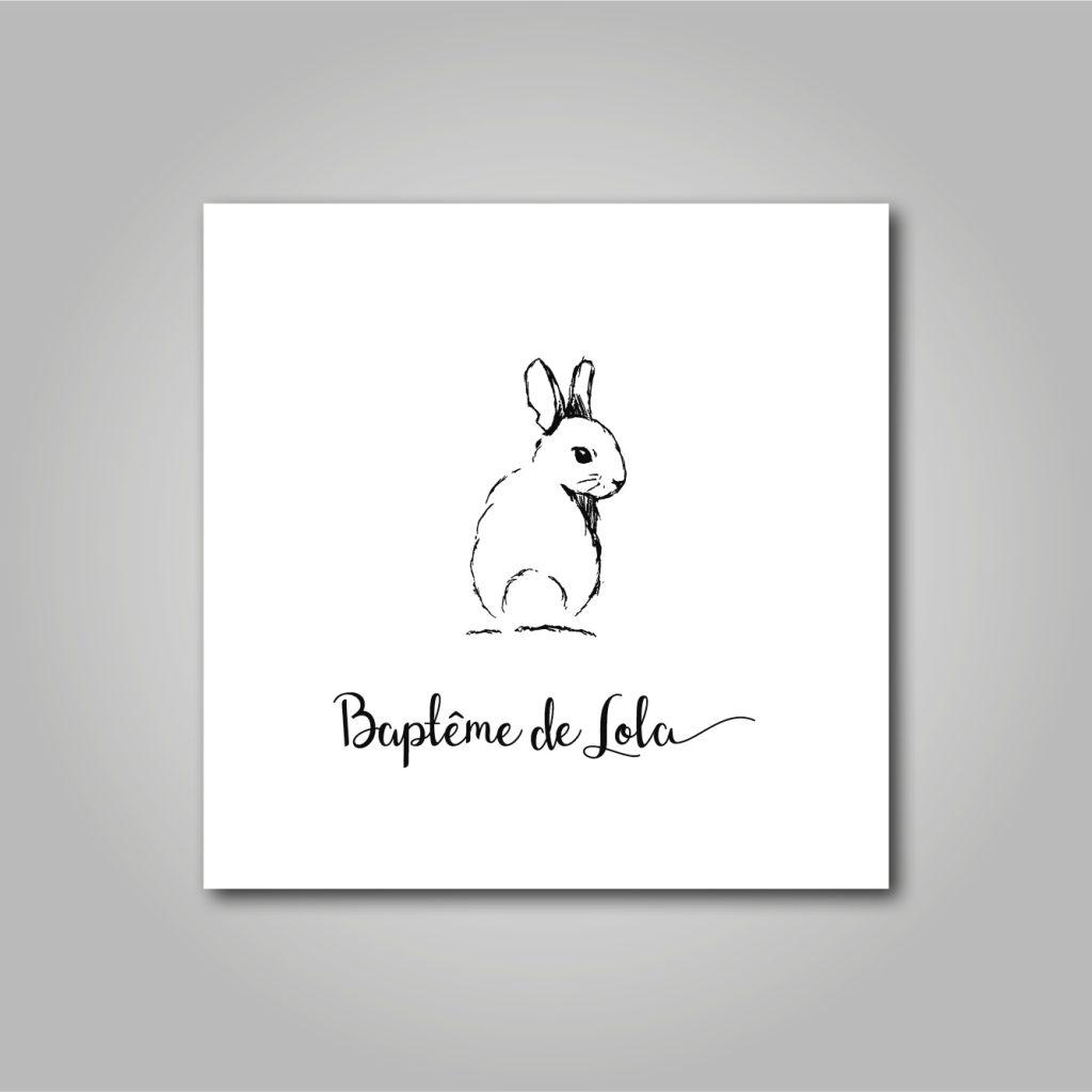 Logo - Baptême-communion - Lola