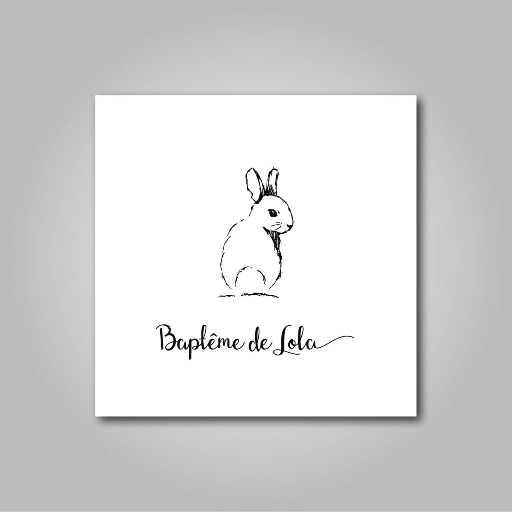 Le logo du baptême de Lola