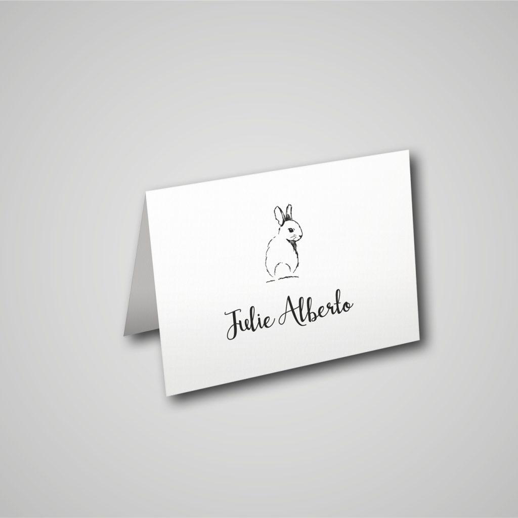 Marque-Place - Baptême-communion - Lola